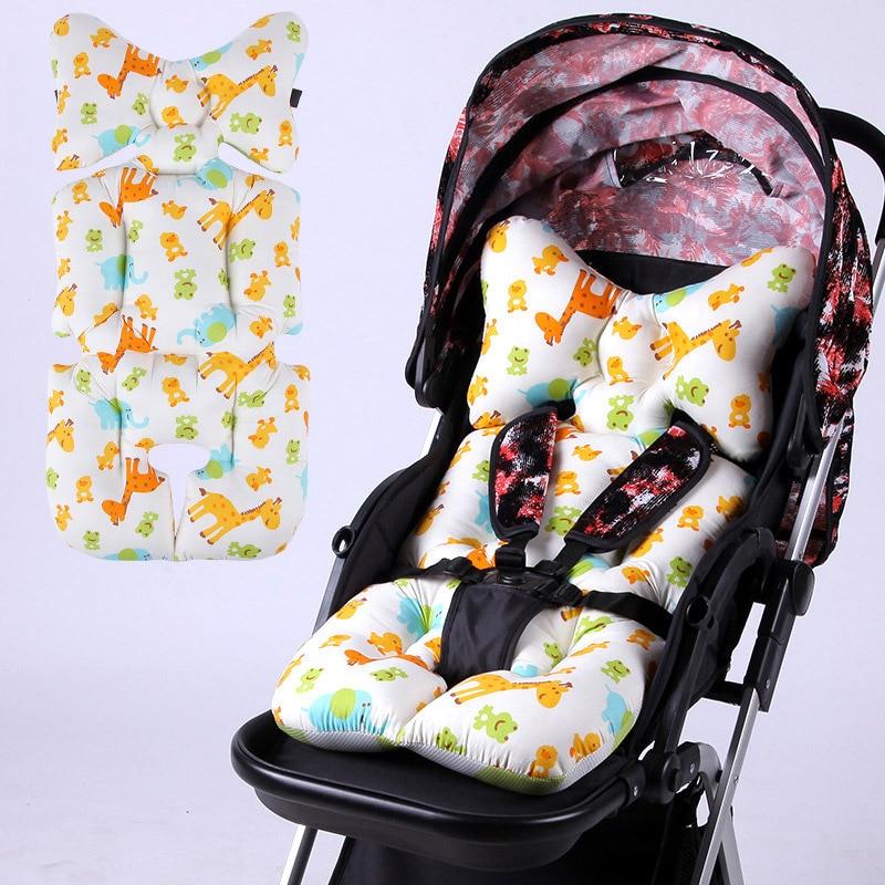 Symbol Of The Brand Stroller Seat Cushion Cartoon Warm Cover Diaper Pad Cotton Baby Cart Mat Pram Kids Sleeping Mattress Mother & Kids Strollers Accessories