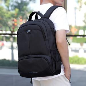 Image 3 - Fashion Backpack 2020 Men Backpack Student Charging Laptop Wear Backpack Resistant Pack SchoolBags For Teenage Boys Mochila