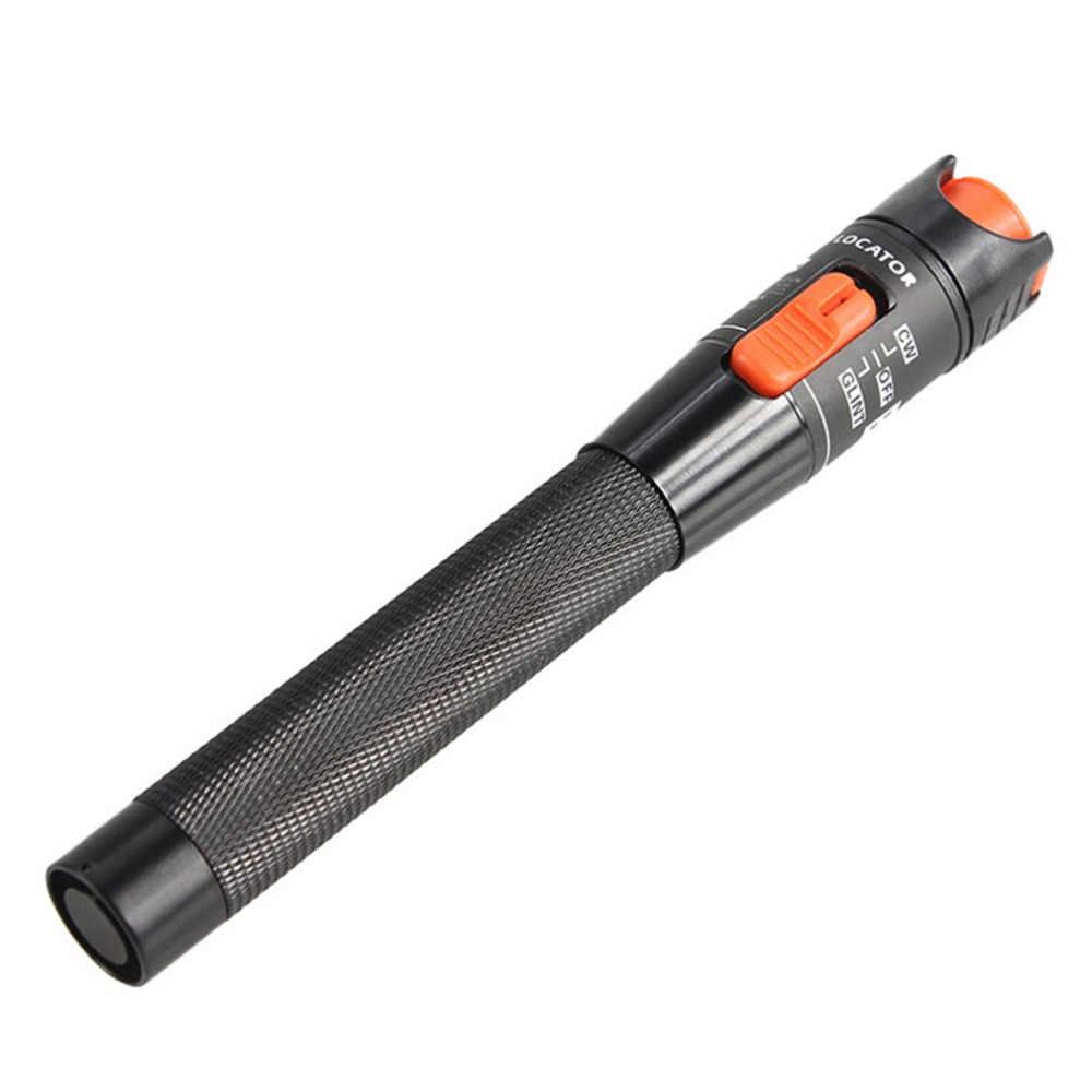 Portable Fiber Optic Visual Fault Locator Red Laser Cable Tester Fiber Optic Test Pen 10MW 10KM Testing Tool