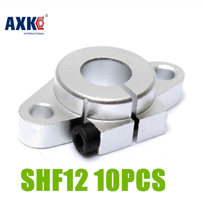 2017 Limited Ball Bearing Thrust Bearing Axk New 10pcs/lot Free Shipping Shf12 12mm Shaft Support Linear Rail Cnc Router Xyz 2pcs lot sk35 35mm linear rail shaft guide support cnc brand new