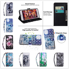 3D Wolf Flip Leather Case For Fundas iPhone 5 5S SE 4.0 inch Cover Wallet Stand animal Phone Case for iPhone 5G Cell Phone Shell blooming flowers rhinestones inlaid wallet leather stand case for iphone 5s 5