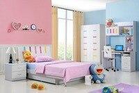 2017 Direct Selling Enfant Loft Bed Set Kids Table And Chair Wood Kindergarten Furniture Camas Lit Enfants Childrens Bunk Beds
