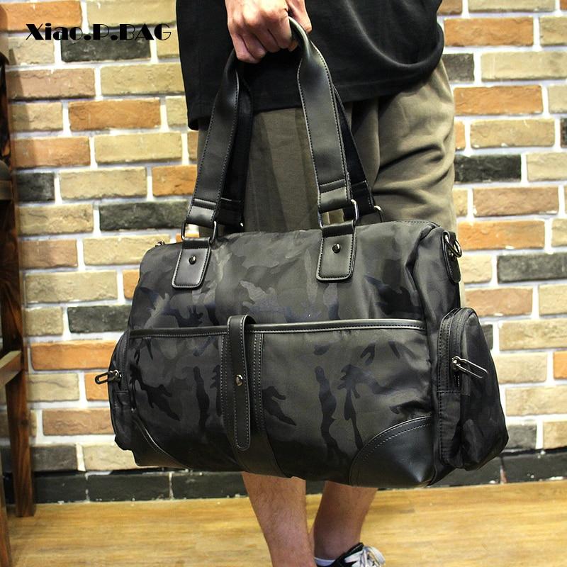 Men Waterproof Camouflage Messenger Bags Business Travel Portable Shoulder Bag Good Quality Large Capacity Foldable Handbag недорго, оригинальная цена