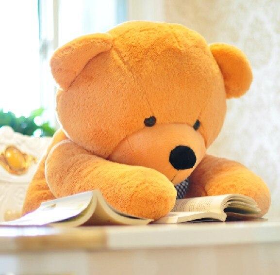 5 couleurs 180 cm ours en peluche géant jaune jouets en peluche enfants peluches douces mignonnes bébé poupée oreiller gros animaux en peluche grande vente