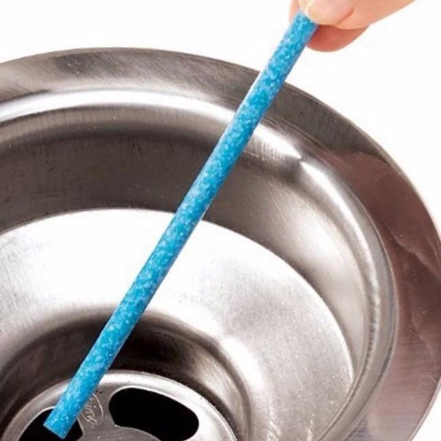 12 Pcs / set Sticks sewage decontamination to deodorant The kitchen bathroom bathtub drain cleaner sewer cleaning rod