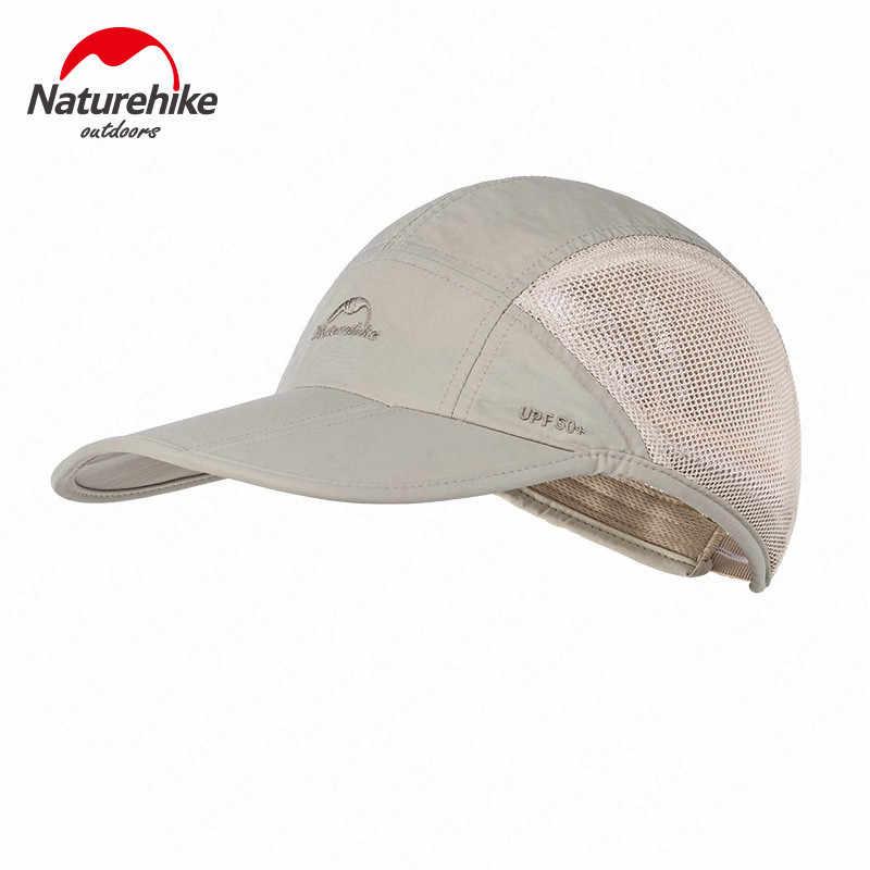 Naturehike nowa czapka z daszkiem rybacy Outdoor sportowa tkanina siateczkowa kapelusz szybkoschnący letni daszek wspinaczka polowanie czapka pustynna