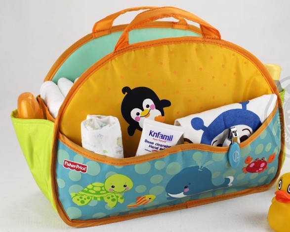 fisher price portable mummy bags multifunctional nappy storage bag lovely zoo changing - Blue's Store store