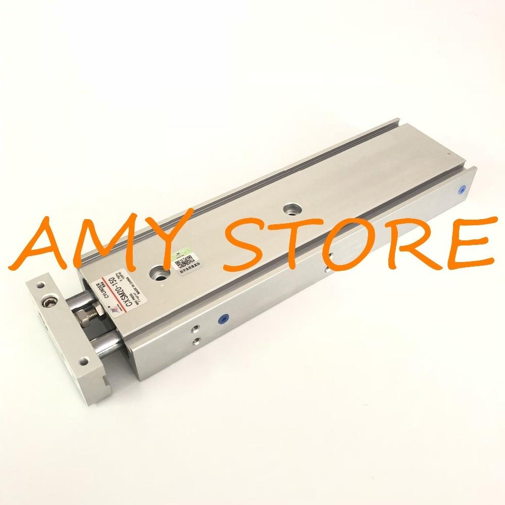 лучшая цена SMC Type CXSM20-150 Compact Type Dual Rod Cylinder Double Acting 20-150mm Accept custom