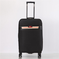Trolley wheeled luggage business large travel bag Men 20 inch boarding case 24inch ladies luggage rolling student PU suitcase