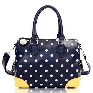 16 Cat bag limited edition polka dot big capacity handbag casual bag travel bag female bags h-002