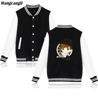 2017 New BTS Kpop Baseball Jacket Sweatshirt Women Hoodies Winter Popular Bangtan Hip Hop Hoodies Women