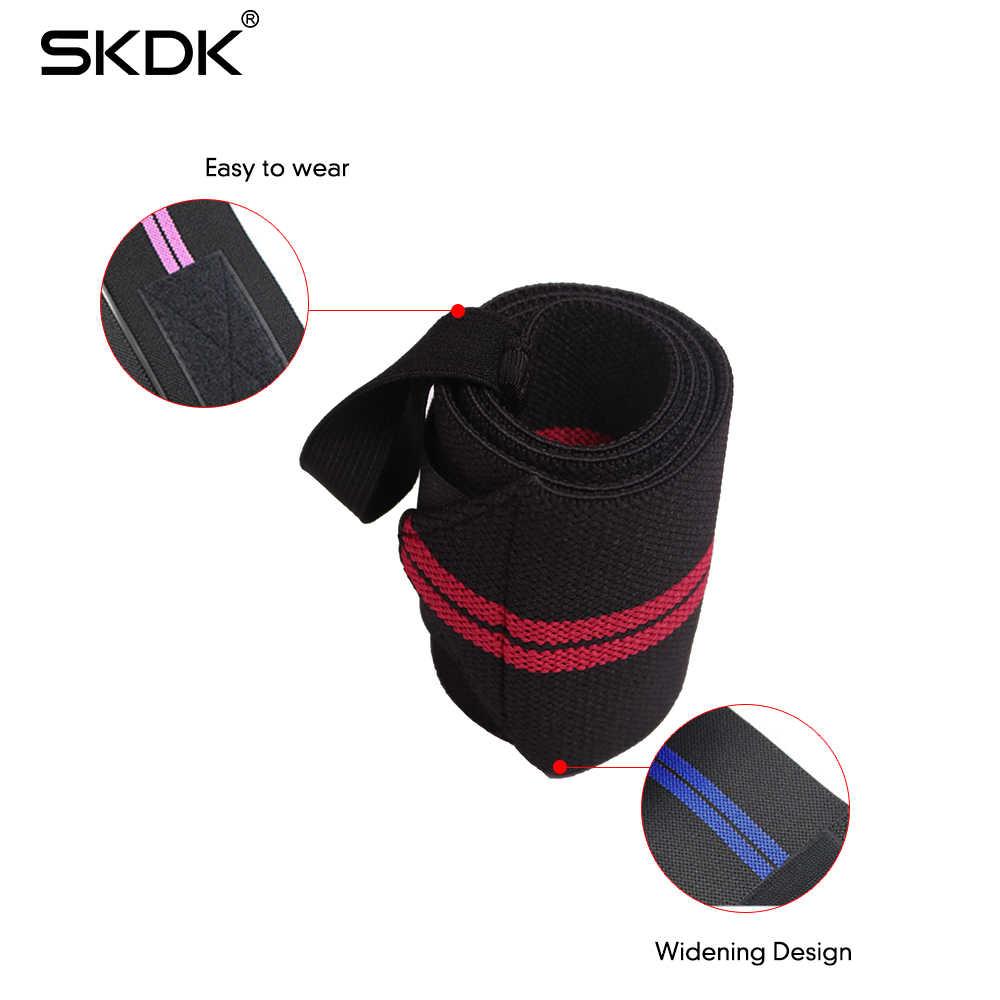 1 пара браслет эластичные бинты для запястья повязки дышащий вес подъемная рукоятка штанга поддержка ремни защита рук