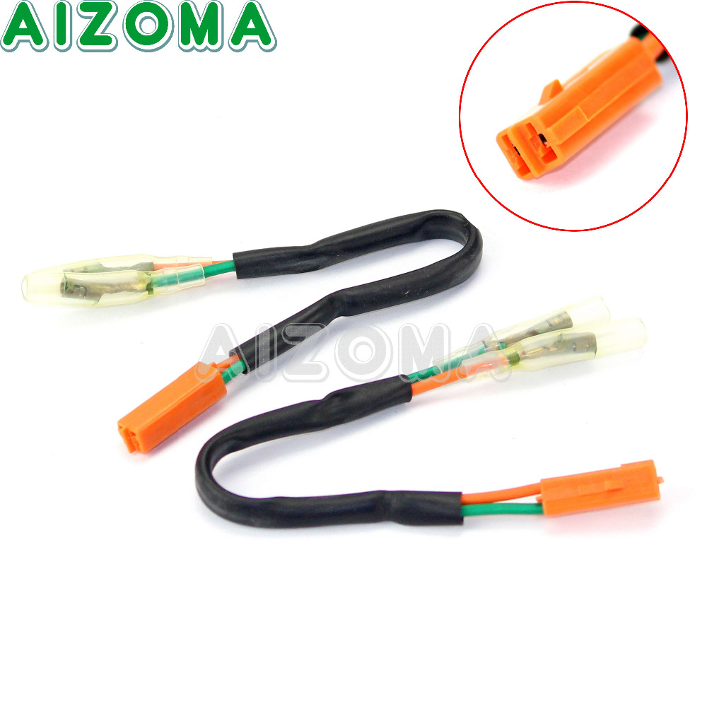 small resolution of detail feedback questions about turn signal adapter plug 2pcs for honda 99 03 cbr 600 900 929 954rr f4 vtr 1000f rc51 motorcycle connector harness indicator
