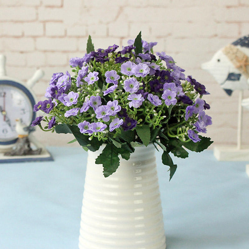 Milan Lilac Flower Fake Plants For Wedding Decoration Artificial Wildflower Home Decoration Wreath Corsage Flores 4037