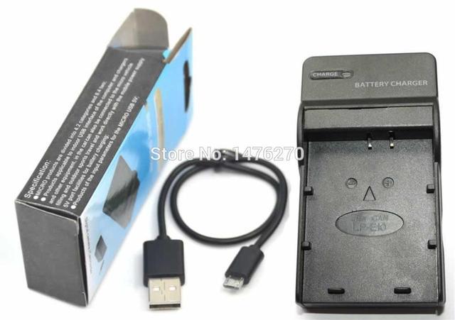 LC E10 E10C 5V USB Charger For LP Camera