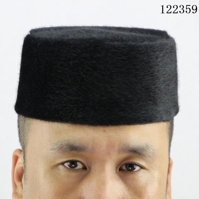 Muslim  Plush Prayer turban ,caps Muslim head coverings