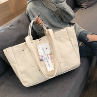 Canvas Shoulder Bags Women's Shopping Bag Tote Package Crossbody Bags Purses Casual Handbag For Women