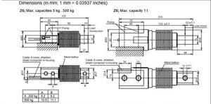 Image 4 - HBM Z6FD1/5 KG Yeni ve Orijinal Yük Hücresi tartı Sensörleri