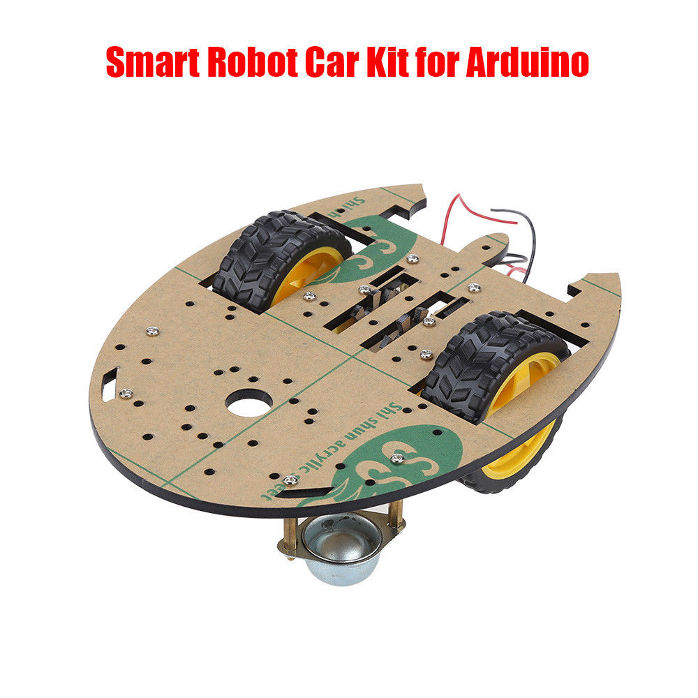 Keyes 2WD Smart Robot Car Chassis Kits with Speed Encoder for Arduino Platform Starter Free Shipping rotoup smart robot chassis kits 4wd motor car wheels robot platform chassis for arduino rc avoidance speed encoder battery box