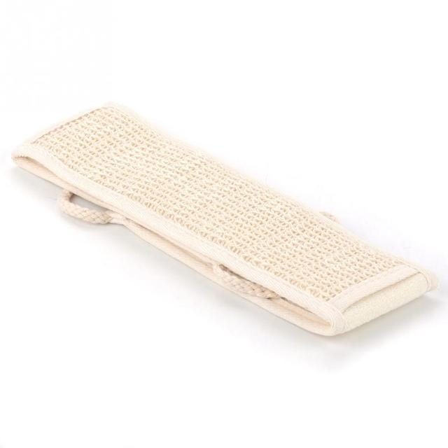 1pc Natural Loofah Massage Sponge Shower Body Cleaning Tool Long Toiletries Scrubber Ponge Brush Pad Towel Horniness Remover 5