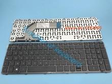 Novo teclado azerty para hp 17 e155nf 17 e158nf 17 e159nf 17 e160nf teclado francês azerty claver 720670 051 com moldura