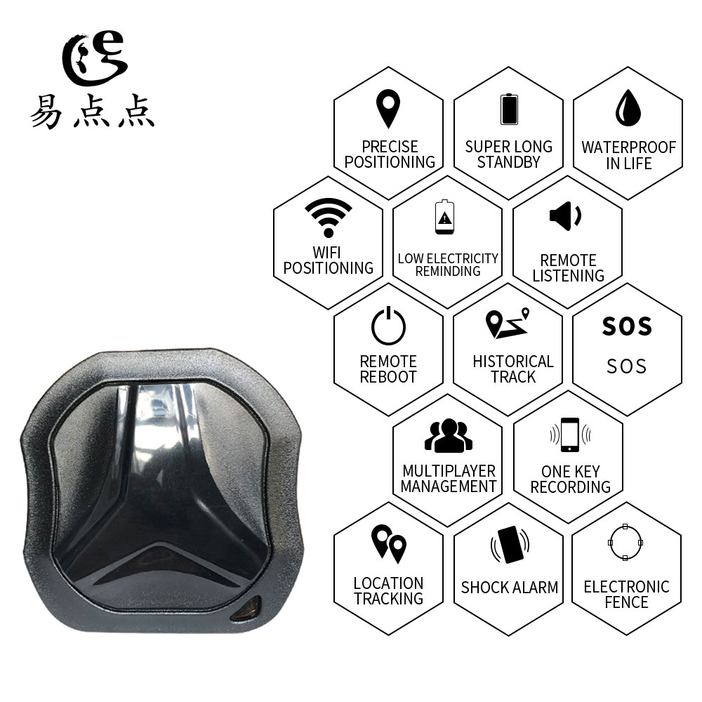 Mini GPS vehicle tracking device is used for the use of accurate positioning tracker and waterproof GPS locator for children