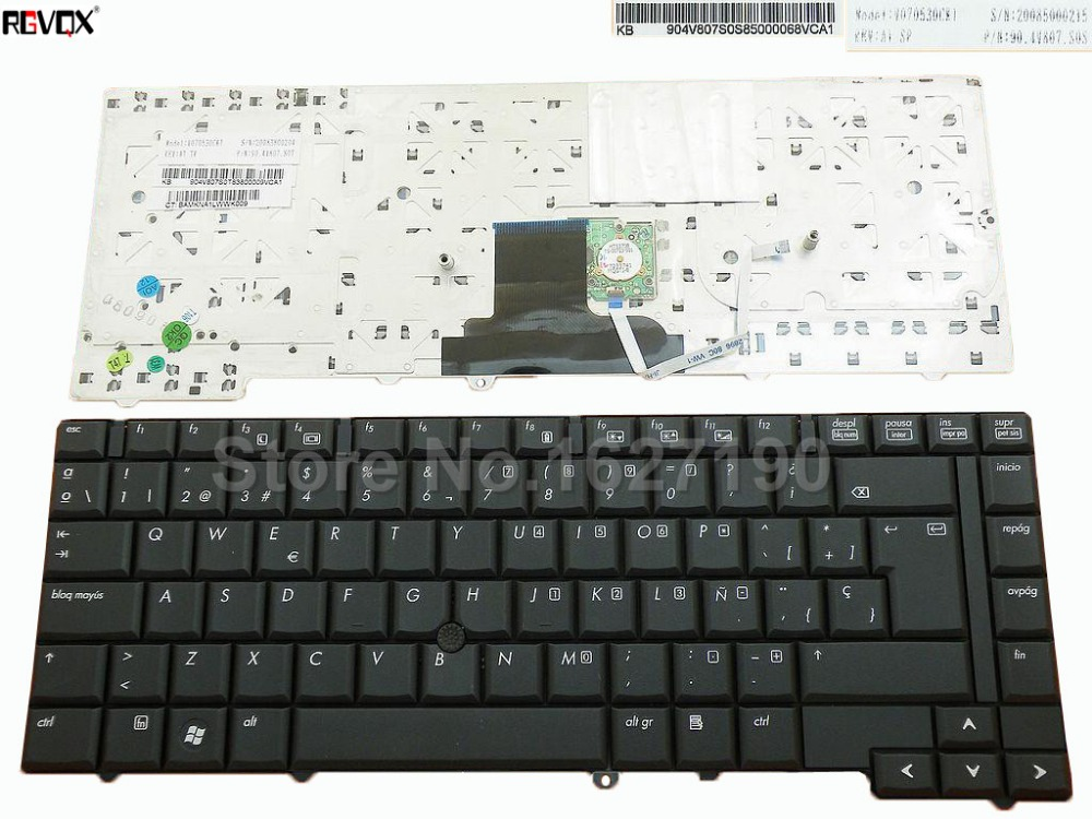 New SP keyboard laptop For HP 8530P 8530W BLACK With Point stick PN:V070530CK1 90.4V807.S0S image