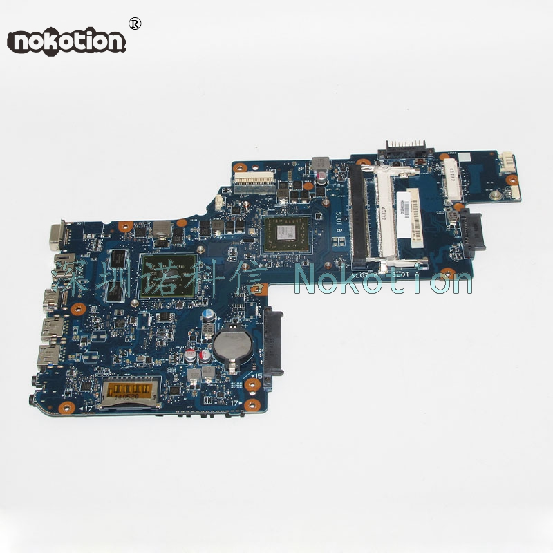 NOKOTION Laptop Motherboard For Toshiba Satellite C50D C55D H000062040 PT10AN DSC MB CPU HD8570M Video Card Main Board for toshiba satellite c55td c50d c55d dlaptop motherboard v000325020 integrated 6050a2565601 mb a02