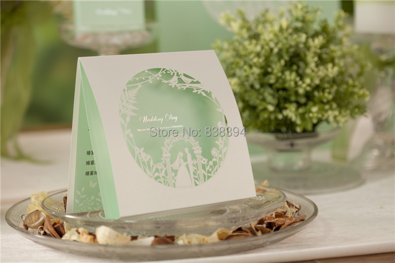 Aliexpress Com Spring Theme Laser Cut Colorful Flower Lace Wedding Invitation Card Come With Free Envelope And Seals Shipping 25pcs Lot From