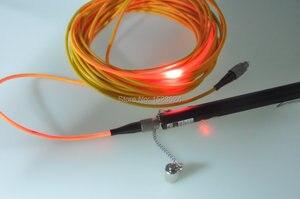 Image 2 - Ücretsiz Kargo 10 km Ucuz 650nm Pentype Fiber Optik Işık Kaynağı Görsel Hata Bulucu 10 mw