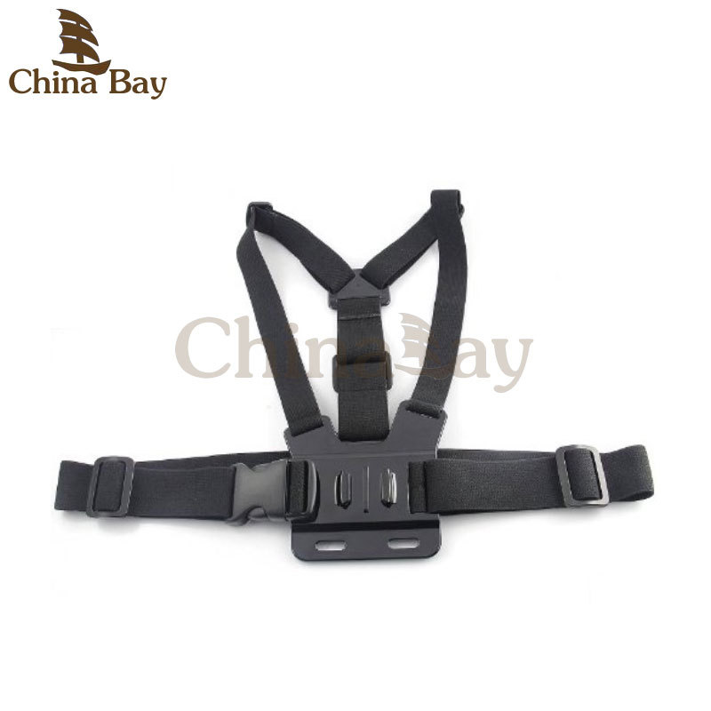 Chest Mount Gopro Chest Strap GoPro Body Strap For eken series h9/h9r/h8/h8r etc Gopro Hero 4 / 3 /2/1 and sj4000 series camera