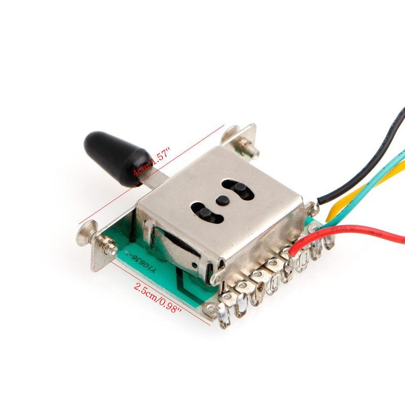 5 Way Guitar Switch Wiring | Wiring Diagram