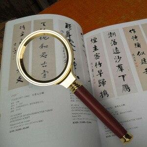 Image 4 - BIJIA 8X lupa portátil de mano para joyería, lupa de Ojos de alta definición para lectura de libros, periódico