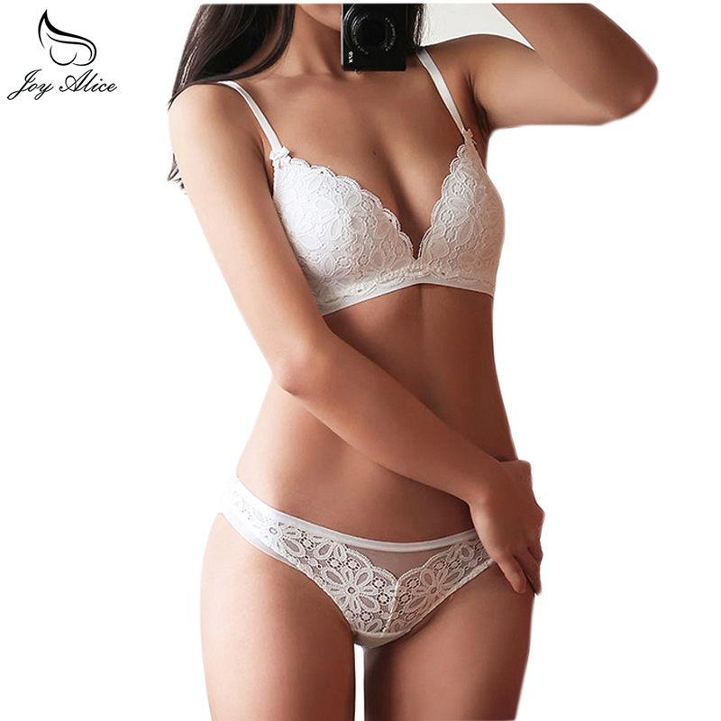 Back To Search Resultsunderwear & Sleepwears New Sexy Lace Thin Cup Bandage Lingerie Set Charm Seduction Push Up Underwear Women Elegant Breathable Panties Bra Set
