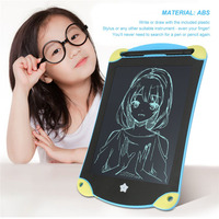 Cartoon 8 5 LCD Writing Tablet Ultrathin Portable Handwriting Erasing Board With Stylus For Kids Gifts