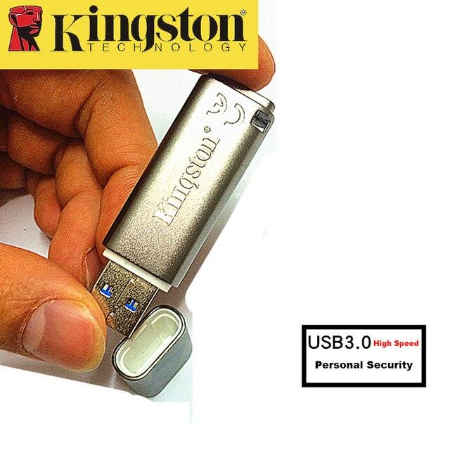 US $28.89 |Kingston USB Stick 8 GB USB 3.0 Metall Pendrive Persönliche  Sicherheit verschlüsselt USB High Speed Memoria Stick cle usb 8 gb U Disk  in ...