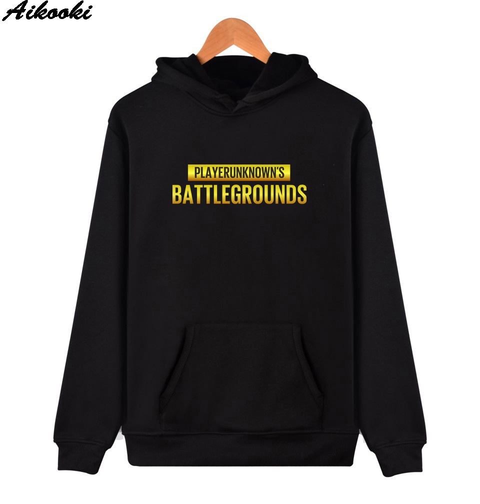PUBG Hoodies Men/Women Hot Game Jedi Survival Battle Royale Sweatshirts Long Sleeve Mens Hoodies PUBG winter Harajuku Hooded