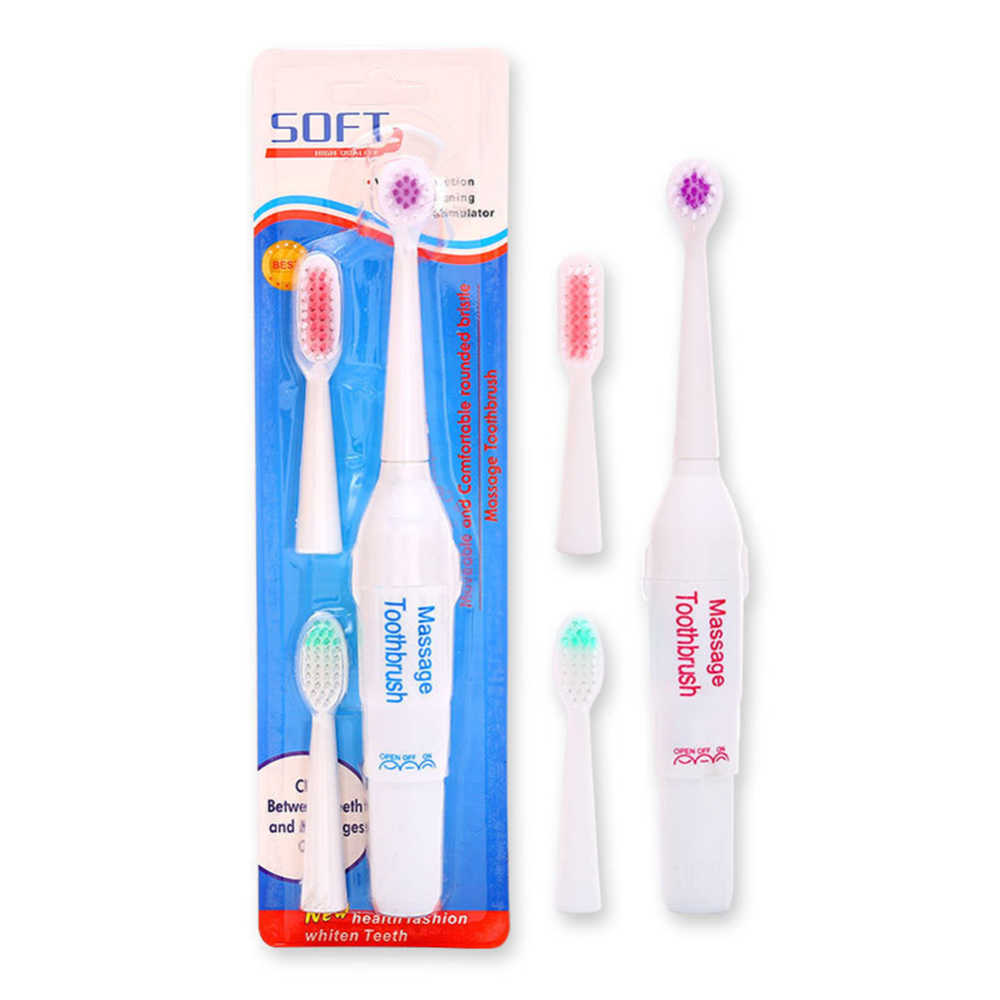 Wysoka profesjonalna jakość elektryczne szczoteczki do zębów dla dzieci 1 * szczoteczka do zębów + 3 * wymienne główki do szczoteczki dla dzieci higiena jamy ustnej opieka zdrowotna J75