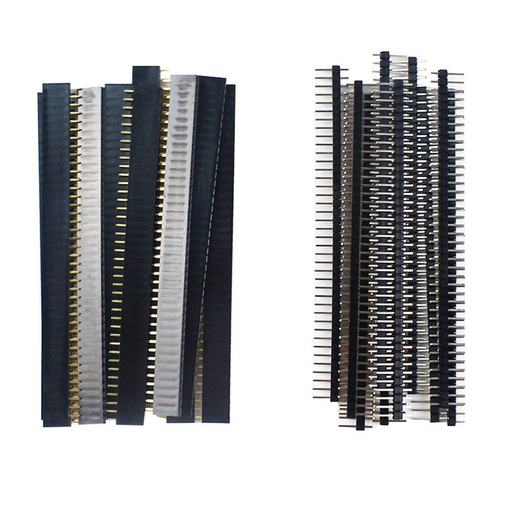 20-pz-10-pairs-40-spille-1x40-singola-riga-maschio-e-femmina-254-fragile-spille-header-pcb-jst-connettore-della-striscia-per-arduino-nero