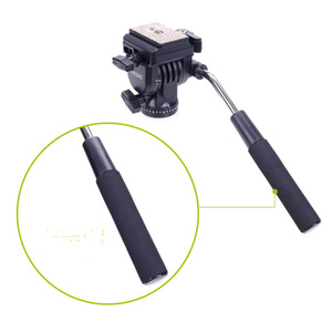 Image 3 - Yunteng 288 Camera Monopod Tripod + Fluid Pan Head Ballhead + Unipod Holder Base Stand for Ditigal Camera DSLR Smartphone Clip