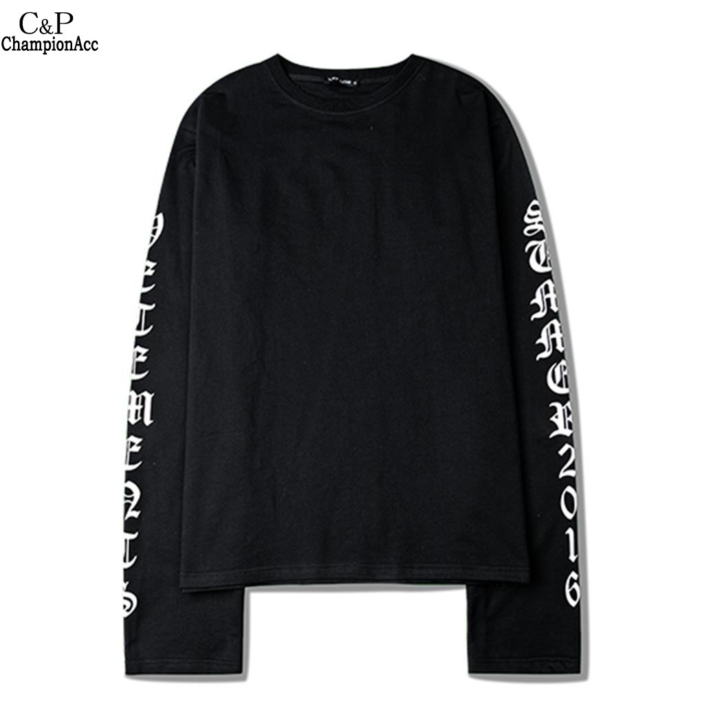 FANALA Women Men O-Neck Long Sleeve Letter Print Pullover Casual Loose Sweatshirt Couple Lovers Oversize Hoodies Sweatshirt Top