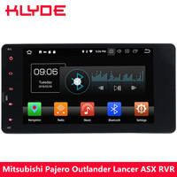 KLYDE 4G Octa Core Android 8.0 4GB RAM 32GB ROM Car DVD Multimedia Player For Mitsubishi Lancer Outlander ASX RVR 2013 2014 2015