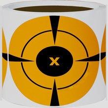 Лучшие Целевой Стикеры оранжевый кодирования этикетки 3 «дюймов Прямоугольник в форме Цветной Наклейки для инвентаризации целевой Бумага
