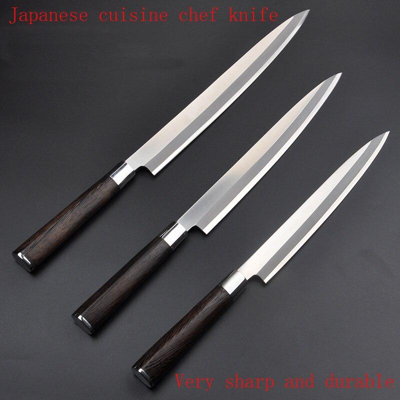 Free Shipping LD stainless steel kitchen font b knife b font salmon sashimi raw fish fillet