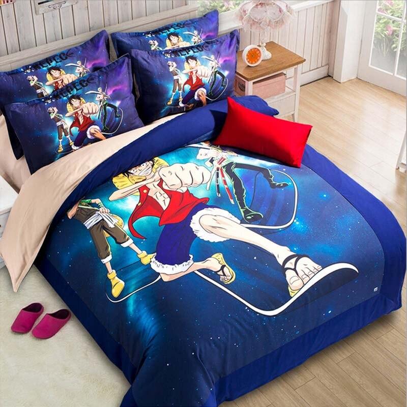 achetez en gros one piece anime literie en ligne des grossistes one piece anime literie. Black Bedroom Furniture Sets. Home Design Ideas