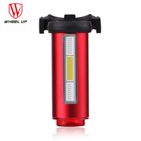WHEEL UP Bike Light USB Rechargeable 360 Safety Seat post Tail light 7 Modes COB Lamp Beads LEDS Bicycle Light Free Shipping new
