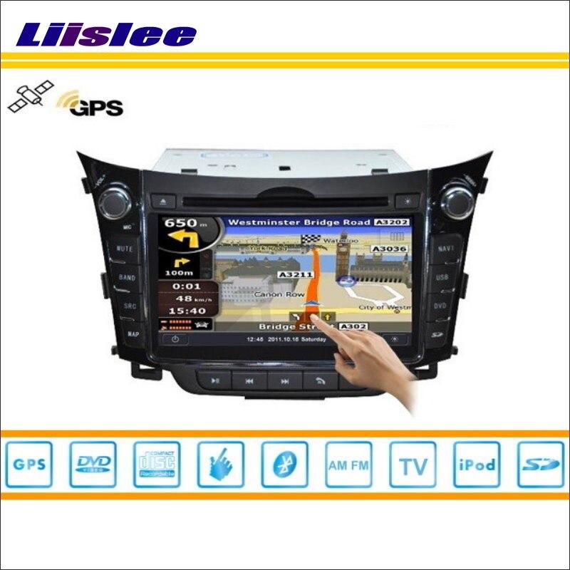 Liislee для hyundai i30 2012 ~ 2013 автомобилей Радио Аудио Видео стерео CD DVD плеер gps географические карты NAV NAVI навигации S160 мультимедиа системы