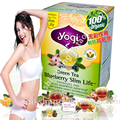EUA Yogi blueberry chá chá verde emagrecimento celulite emagrecimento perda de peso-Adulto beleza emagrecimento chá de ervas