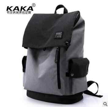 KAKA Pria Ransel Perjalanan Bisnis Ransel Tas untuk Pria 15.6 Inch Laptop Ransel Pria Sekolah Tas Bahu Tas Travel Rucksack