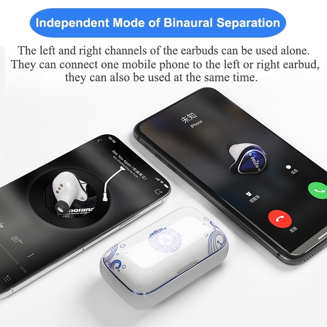 Cool Looking Bluetooth 5.0 Balanced Armature True Wireless Earbuds